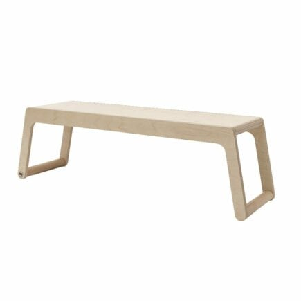 Rafa-kids - B Bench (120 cm) zonder rugleuning - Natural