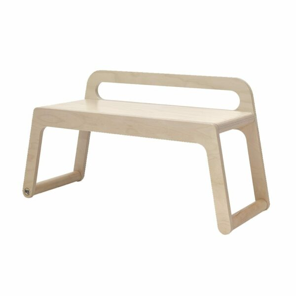 Rafa-kids - B Bench (90 cm) with backrest - Natural
