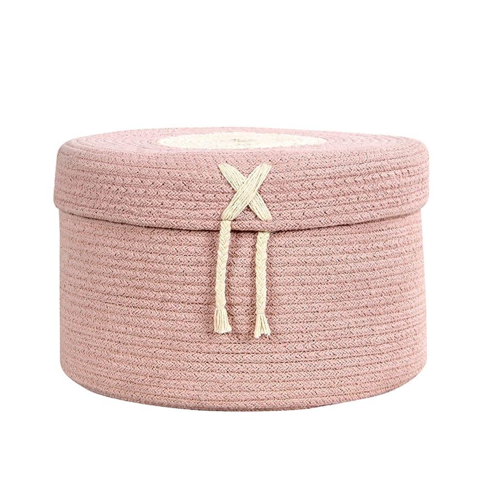 Lorena Canals – Basket – Candy Box – Vintage Nude – 20 x ø 30 cm