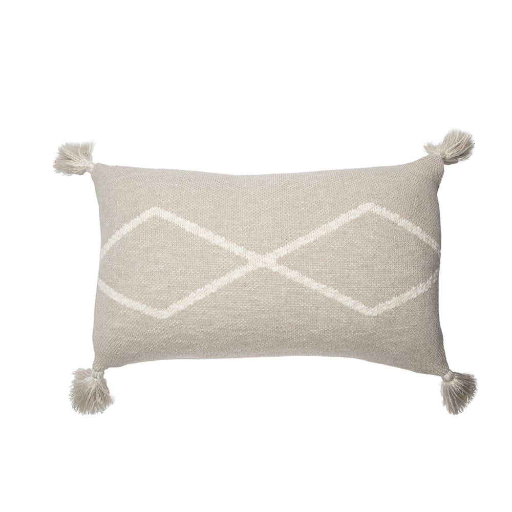 Lorena Canals – Knitted Cushion – Oasis Soft Linen – 30 x 48 cm