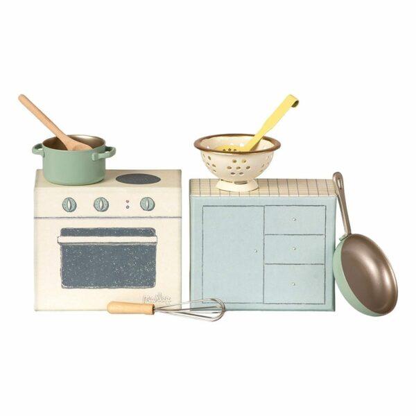 Maileg Cooking Set 11-9108-00