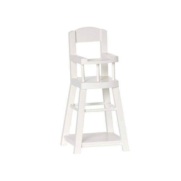 Maileg Highchair Micro, Off White 11-5034-00