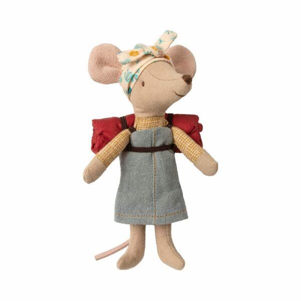 Maileg Hiking Mouse Big Sister 16-9730-00