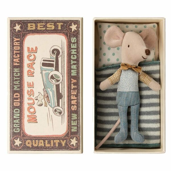 Maileg Little Brothr Mouse in Box 16-9721-01