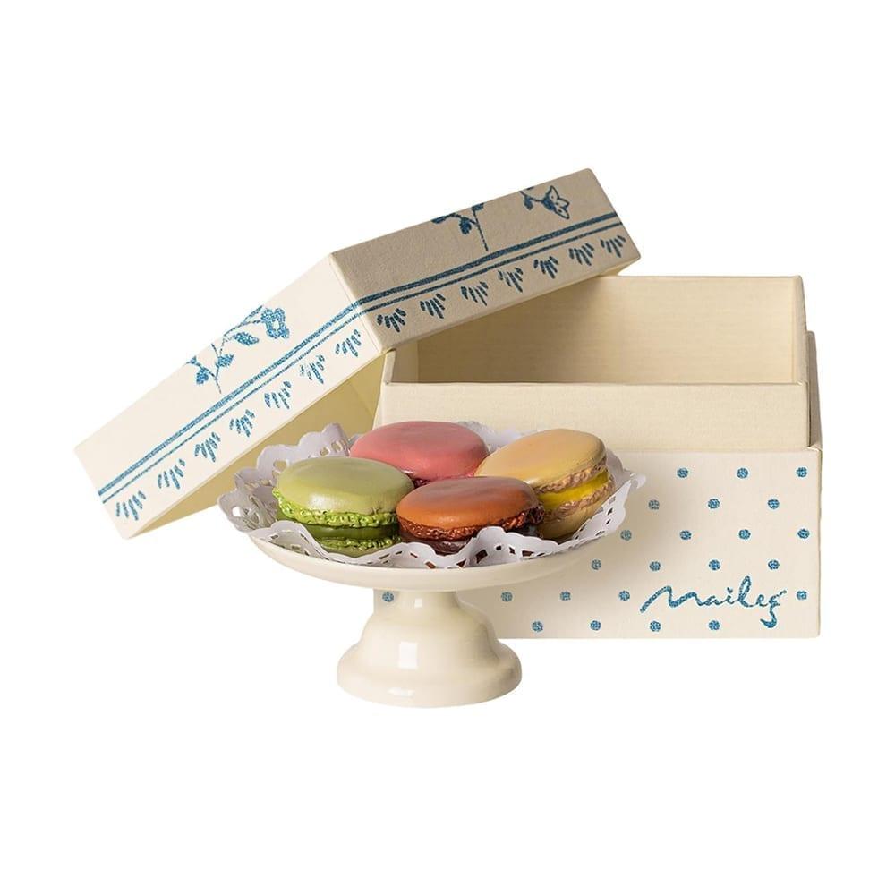 Maileg – Macarons et Chocolat Chaud – 5 cm