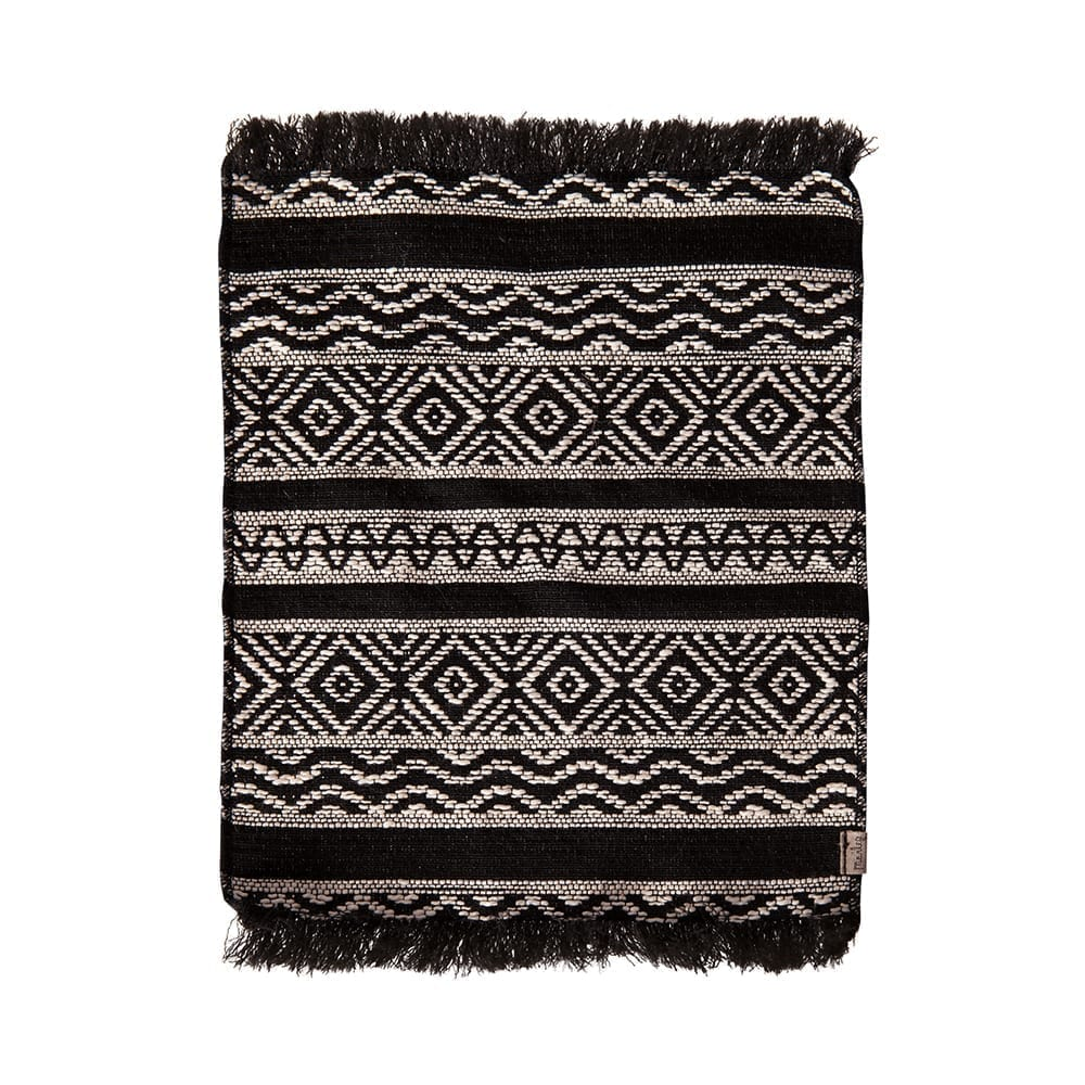 Maileg – Miniature Rug, Black 24 x 18 cm