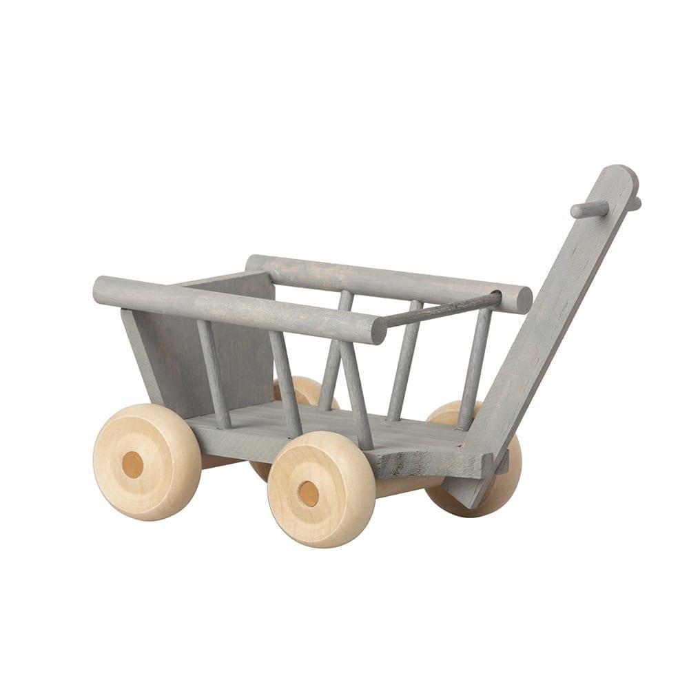 Maileg – Wagon – Mint/Grey