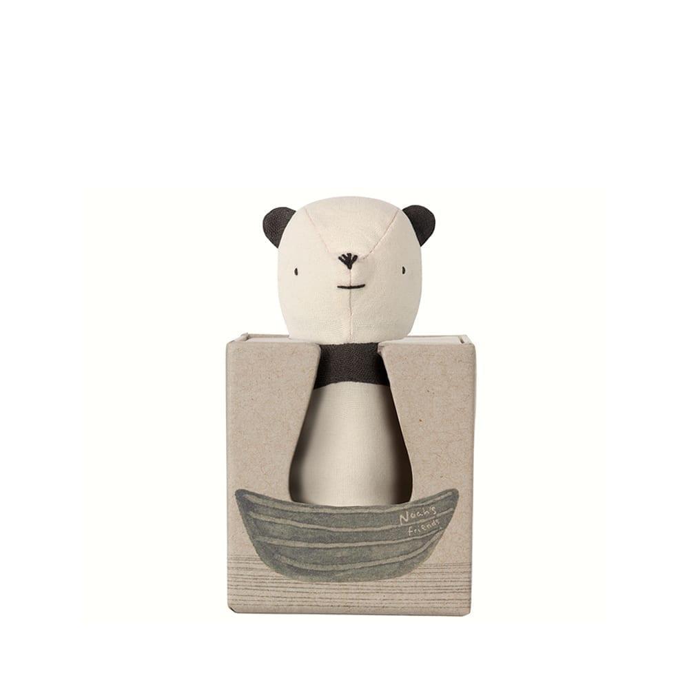 Noah's Friends, Panda Rattle – 12 cm