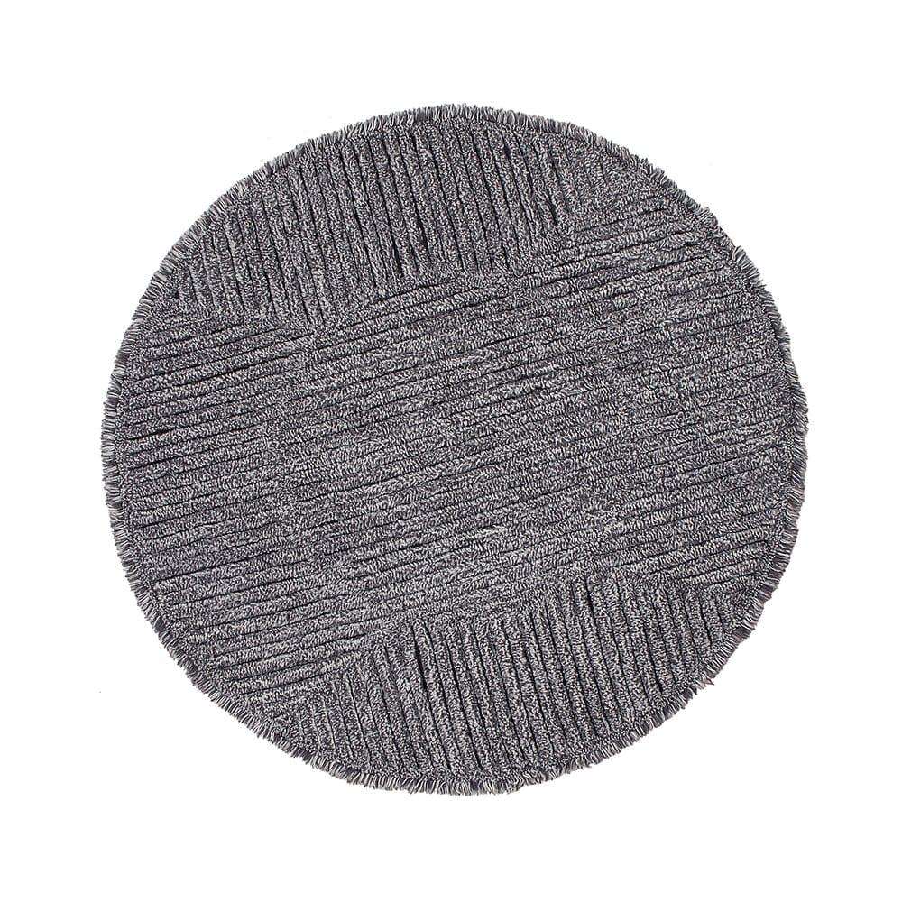 Woolable – Wollteppich – Black Tea – ø 160 cm
