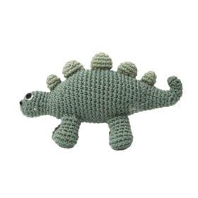 Sebra – Crochet Rattle, Dino