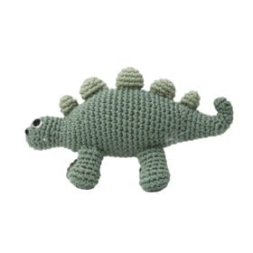 Crochet Rattle, Dino