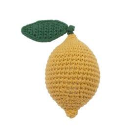 Crochet Rattle, Lemon