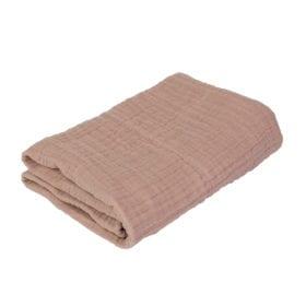 Sebra – Baby Blanket/Swaddle – Powder Rose