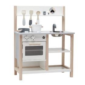 Kids Concept – Play Kitchen – Natural White