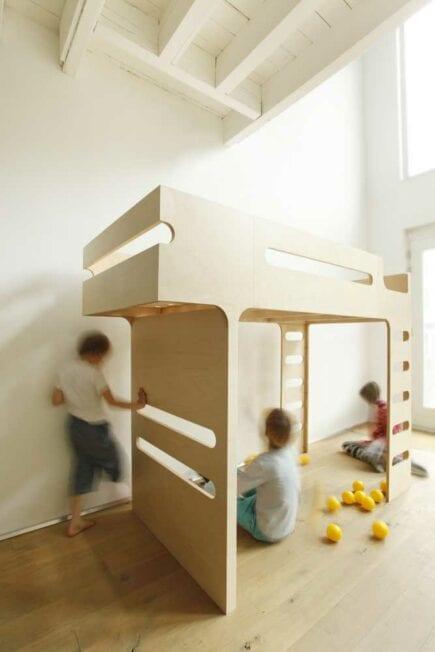 Rafa-kids - F Bunk Bed - Natural