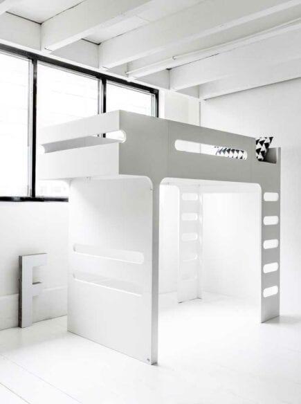 Rafa-kids - F Bunk Bed - White
