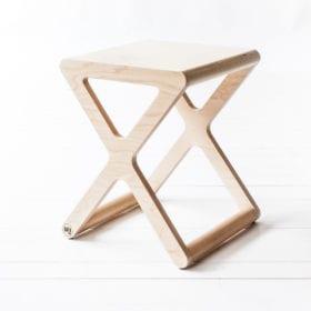 X Schreibtisch Stuhl – Natur