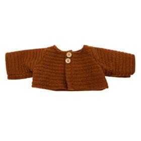 Olli Ella – Dinkum Doll – Gebreid Vest – Chestnut