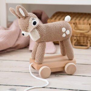 Sebra Pull Along Toy Dixi the Deer