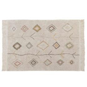 Waschbarer Teppich – Kaarol Earth – 140 x 200 cm