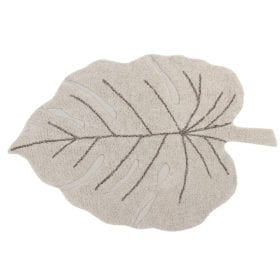 Lorena Canals – Washable Rug – Monstera – Natural – 120 x 180 cm