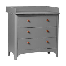 Leander – Changing Unit for Classic Dresser – Grey