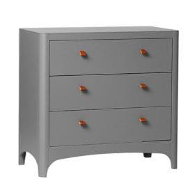 Leander – Classic Dresser – Grey