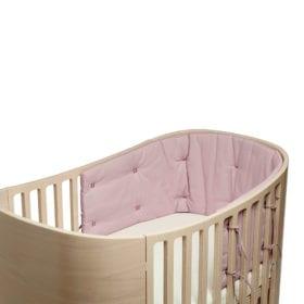 Hoofdbeschermer voor Classic baby ledikant – Dusty Rose