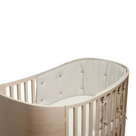 Bumper for Classic Baby Cot – Cappuccino