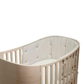 Leander – Bumper for Classic Baby Cot – Cappuccino