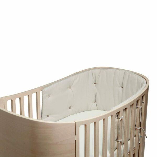 Bumper for Classic baby cot Organic cappucino