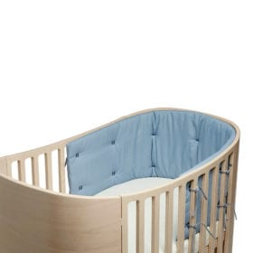 Leander – Bumper for Classic Baby Cot – Dusty Blue