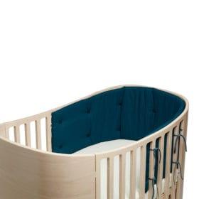 Bettnestchen für Classic Babybett – Dunkelblau
