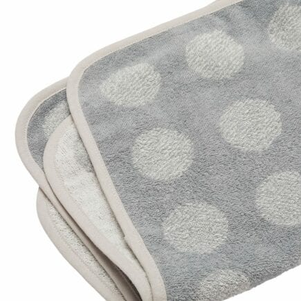 Leander Matty Topper for changing mat organic cool grey