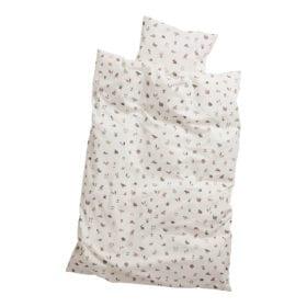 Leander – Junior Bed Dekbedovertrek – Forrest – Dusty Rose -100 x 140 cm