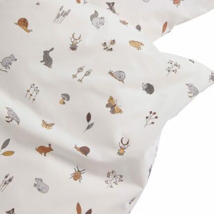 Leander Baby bedding Forrest cappucino 70 x 100 cm