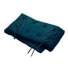 Leander – Bumper for Linea and Luna baby Cot – Dark Blue