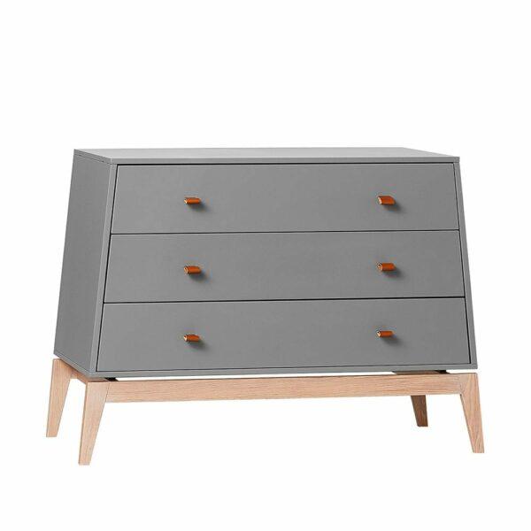 Leander Luna dresser grey/oak