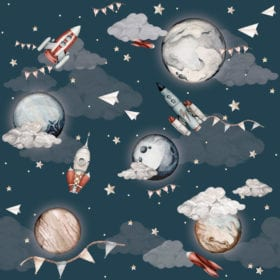 Wallpaper – Cosmos – 100 x 280 cm