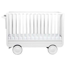 Laurette – Baby Cot La Roulotte – 60 x 120 cm – White