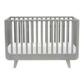 Laurette – Baby Cot Le Joli Môme – 70 x 140 cm – Pale Grey