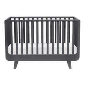 Laurette – Baby Cot Le Joli Môme – 70 x 140 cm – Dark Grey