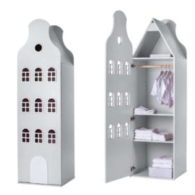This is Dutch – Cabinet Amsterdam, Bellgable – White XL