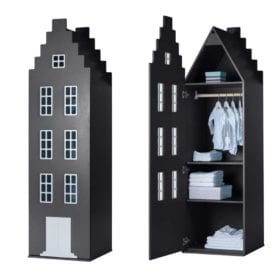 This is Dutch – Cabinet Amsterdam, Stairgable – Black XL