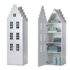 This is Dutch – Cabinet Amsterdam, Stairgable – White XL