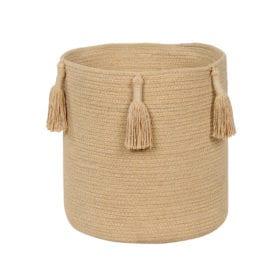 Lorena Canals – Basket Woody – Honey – 30 x 30 cm