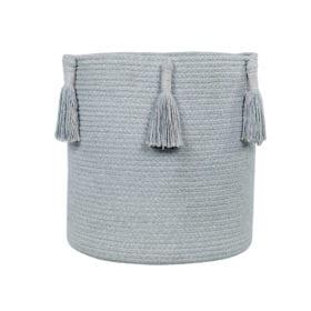 Basket Woody – Pearl Blue – 30 x 30 cm