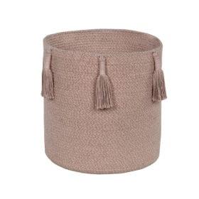 Lorena Canals – Basket Woody – Vintage Nude – 30 x 30 cm