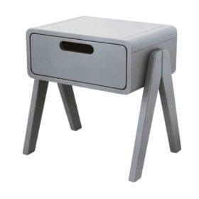 Laurette – Nachtkastje Petit Robot – Pale Grey
