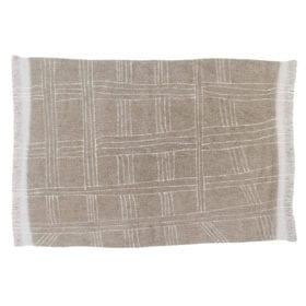 Wollteppich – Shuka – Sandstone – 170 x 240 cm